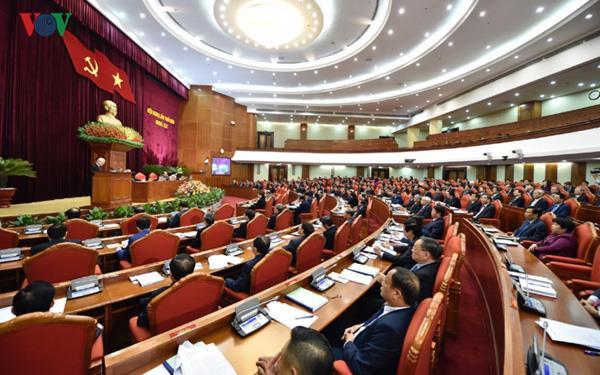 Hội nghị TƯ 10 sẽ bàn nhiều nội dung quan trọng của Đảng và đất nước. Trong ảnh là phiên khai mạc Hội nghị TƯ 9, khóa XII vào tháng 12/2018.