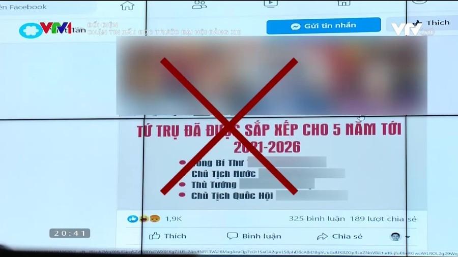 Tung tin xấu độc - Chiêu trò nguy hiểm trước thềm Đại hội XIII của Đảng